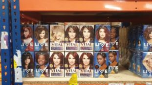 120 X ASSORTED INDIVIDUALLY BOXED SCHWARZKOPF HAIR COLOUR PRODUCTS LOT INCUDING SCHWARZKOPF VITAL