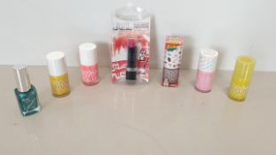 222 X BRAND NEW MODELS OWN AND 2TRUE NAIL POLISHES IN VARIOUS STYLES AND COLOURS I.E PINK ICEING,