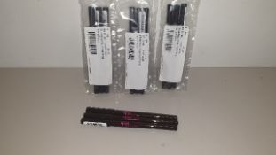 222 X BRAND NEW 2TRUE EASY GLIDE KOHL PENCIL NO. 2 BROWN TOTAL RRP. £388