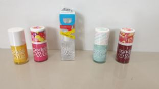 296 X BRAND NEW MODELS SCENTED NAIL POLISH I.E PEAR DROPS, GUMBALL, APPLE PIE AND BLUE BERRY