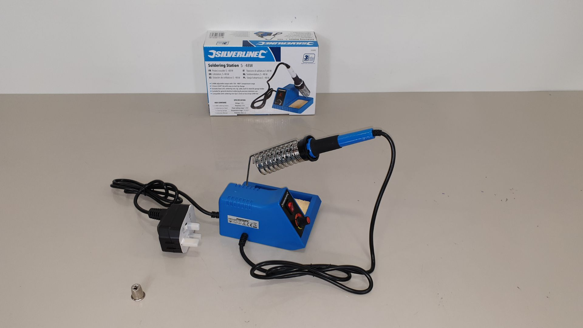 Lot 229 - 20 X BRAND NEW SILVERLINE SOLDERING STATIONS 5-48W (PROD CODE 245090) - TRADE PRICE £31.34 EACH (EXC
