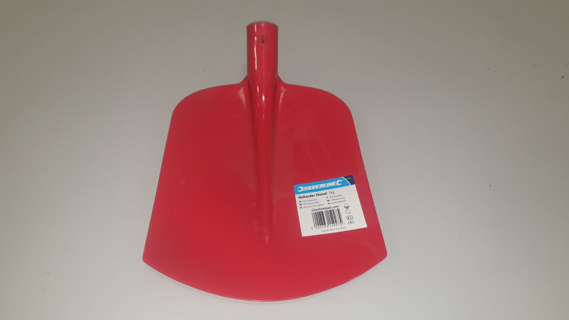 Lot 335 - 36 X BRAND NEW SILVERLINE CONTRACTORS HOLLANDERSHOVEL 1KG (PROD CODE 529620) TRADE PRICE £5.14