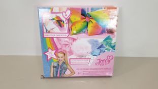60 X BRAND NEW JOJO BOWS DELUXE BOW MAKER, EACH CONTAINING BOW MAKER, RIBBONS, CHARMS, CLIPS, GEMS
