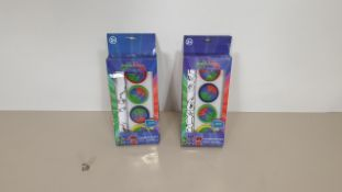 156 X BRAND NEW PJ MASKS 4 FINGER PAINT SET, INCLUDES 1M PAPER ROLL - IN 13 CARTONS