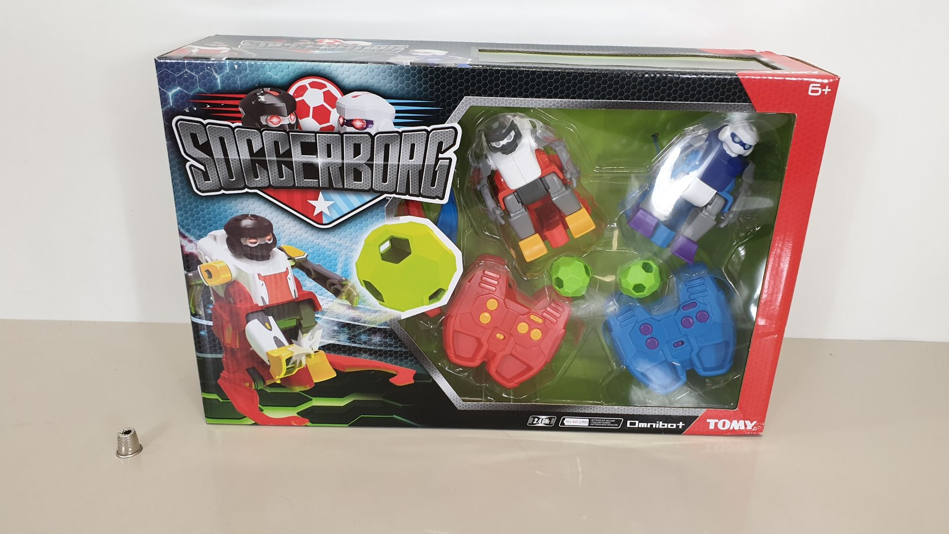 Lot 96 - 24 X BRAND NEW BOXED TOMY OMNIBOT SOCCERBORG WITH ACCESSORIES INCLUDED - IN 8 CARTONS
