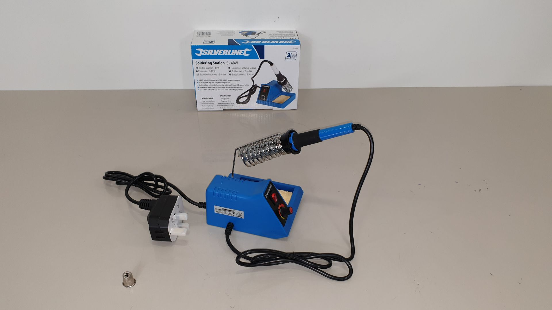 Lot 231 - 20 X BRAND NEW SILVERLINE SOLDERING STATIONS 5-48W (PROD CODE 245090) - TRADE PRICE £31.34 EACH (EXC
