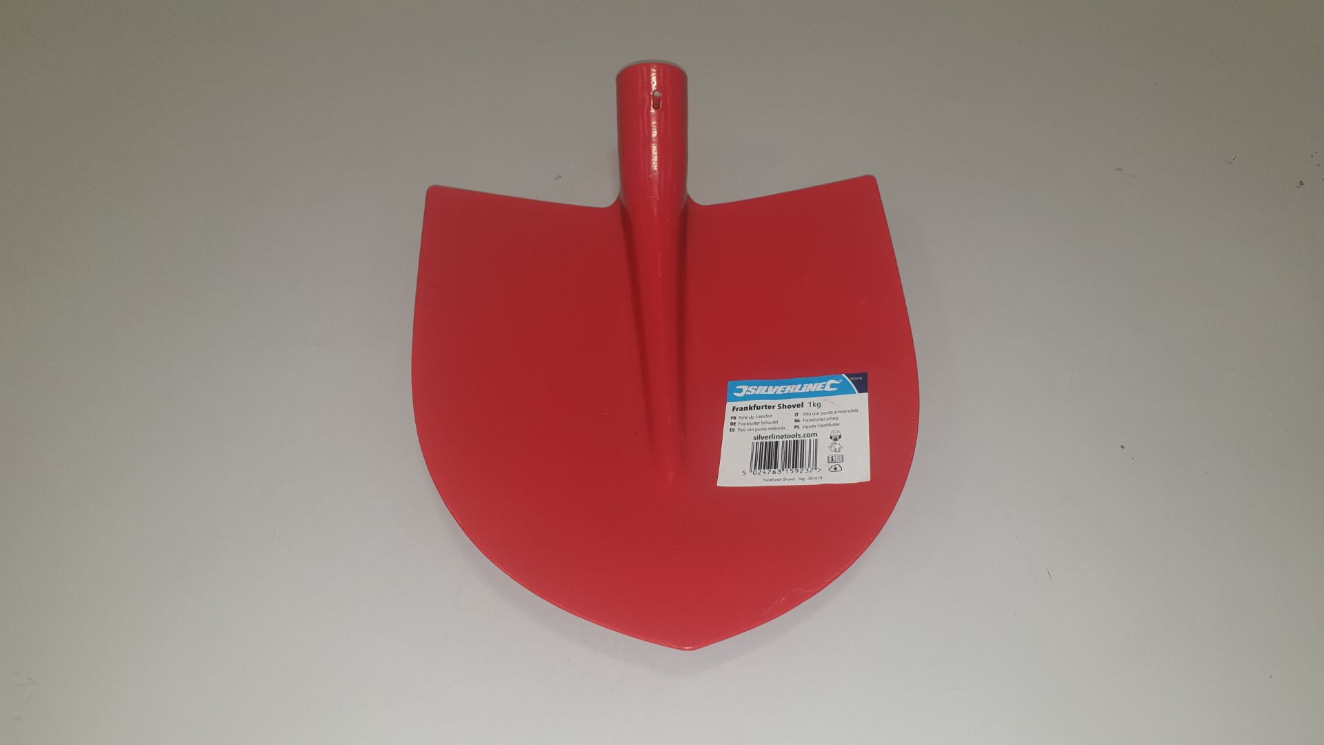 Lot 325 - 60 X BRAND NEW SILVERLINE CONTRACTORS FRANKFURTERSHOVEL 1KG (PROD CODE 283478) TRADE PRICE £5.15
