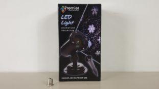 12 X BRAND NEW PREMIER LED SNOWSTORM PROJECTOR WITH 5M CABLE LENGTH