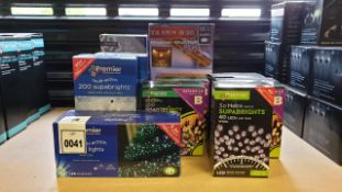 MIXED PREMIER SUPABRIGHTS LOT IE,TOTAL HOME FX 800SERIES PROJECTOR WITH 12 CHRISTMAS VIDEOS, 2O