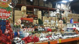 APPROX 120 PIECE MIXED PREMIER CHRISTMAS LOT CONTAINING, CHRISTMAS EXPRESS WITH TRACK, DANCING FLAME