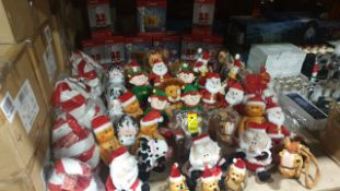 APPROX 75 PIECE MIXED PREMIER CHRISTMAS LOT CONTAINING, 55CM BOXED REINDEERS, 7 X 30CM BOXED