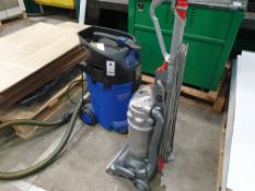 DYSON VACUUM CLEANER AND NILFISK ALTO ATTIX 50 WATER VAC