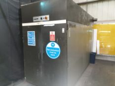 NATGRAPH SCREEN FRAME DRYING CABINET APPROX 6' X 12'
