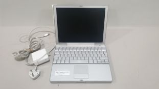APPLE POWERBOOK G4 LAPTOP APPLE X O/S INCLUDES CHARGER