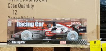 36 X BRAND NEW F1 STYLE RACING CAR IN 3 BOXES
