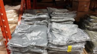 APPROX 350 X SILVER CHAIR COVERS