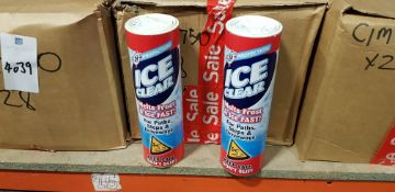 168 X (ICE CLEAR) SALTS TO MELT FROST & ICE FAST! - CONTAINED IN 6 BOXES