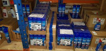 168 X (BLUE COL) SUB ZERO DE-ICER & 60 X AERIAL BALL CLIP STRIP'S