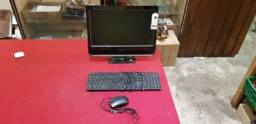 """LENOVO C205 ALL IN ONE PC WINDOWS 7 500GB HARD DRIVE 18.5"""" LED SCREEN WITH KEYBOARD & MOUSE"""