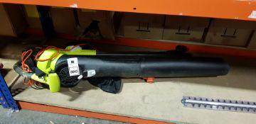 1 X RYOBI 3000W ELETRIC LEAF BLOWER VACCUM 230V