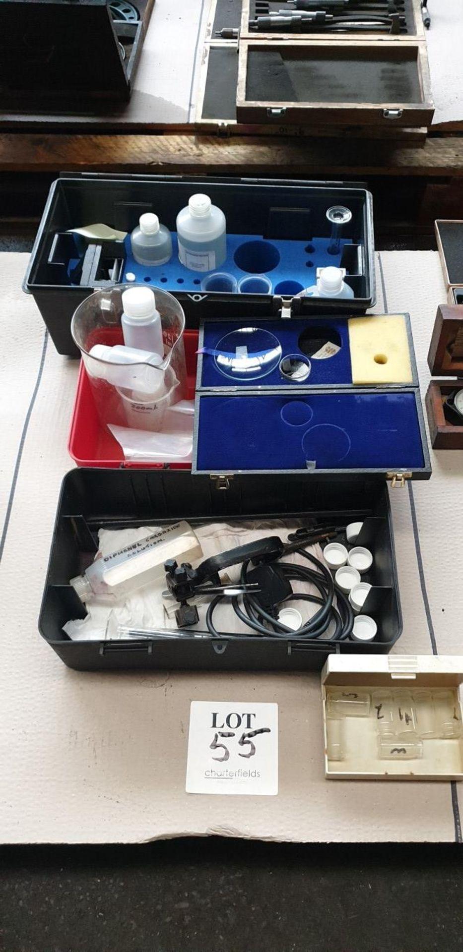 Lot 55 - Chemical test kit
