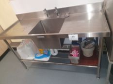 Simply stainless steel sink unit