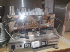 Fiorenzato Ducale coffee machine with accessories