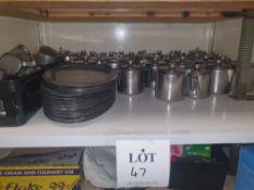Large quantity of teapots