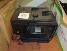 The office electronic equipment including Xerox Versalink C405 multi-function printer, Brewman