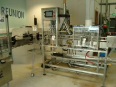 An American Beer Equipment CraftCan 15 through feed automatic canning line (2020) with:Twin Nozzle