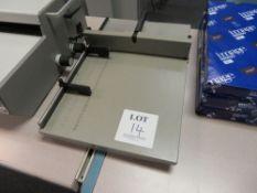 Morgana Docucrease 35-41020 Manual Creaser, Serial No. 471489EGAC