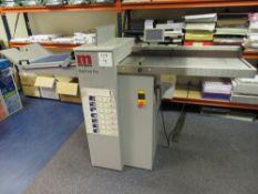 Morgana Model Digifold Pro 1708203S (CB) Creasing and Folding Machine, Serial No. 600895