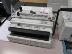 Renz DTP340M Spiral Wire Binding Machine