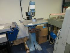 SOAG Single Head Paper Drilling Machine