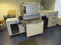 Hewlett Packard Indigo 5000 Five Colour Digital Printing Press, Serial Number IL-30000049 (2007)