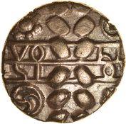 Volisios Dumnocoveros.c.AD35-40. Brigantes. Celtic gold stater. 20mm. 5.24g.