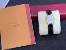 18ct GOLD EBEL BELUGA WATCH