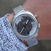 RARE Omega Chronostop Genève Ref. 146.009 Vintage Wristwatch, Circa 1969