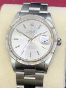 ROLEX STAINLESS STEEL GENTS WATCH APPROX 1990's