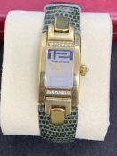 AUDEMARS PIGUET 18ct GOLD QUARTZ WATCH
