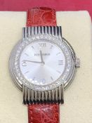 BOUCHERON DIAMOND & STEEL WATCH