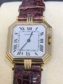 CARTIER 18ct 3 COLOUR GOLD