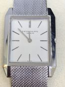 GENTS PATEK PHILIPPE 18ct WHITE GOLD WATCH