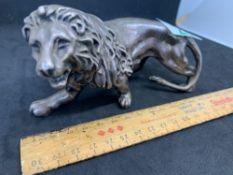 Lion marked 925 Filled