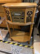 Modern radio CD record player