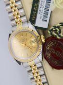 Stunning Rolex Datejust - Bimetal / Champagne Dial (Box, tags etc.)