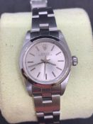 Ladies Rolex Oyster 26 mm stainless steel watch