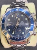 Gents Omega Seamaster professional Automatic watch Approx 46mm to crown