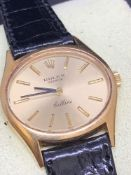 Rolex Cellini 18 carat gold watch approximately 28 mm Approx 23.4 grams