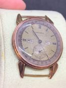 Vintage 35 mm Movado watch as found no strap